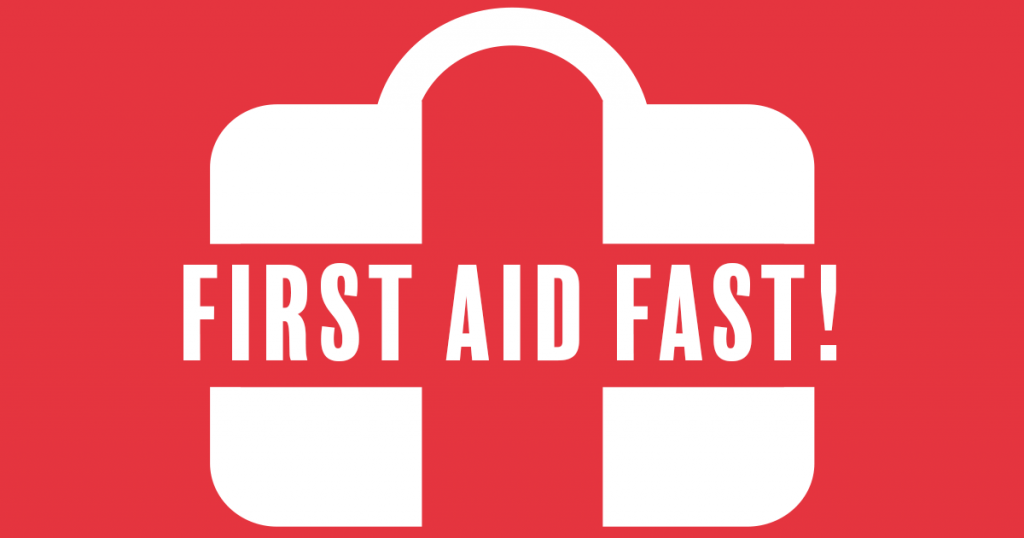 First Aid Fast @ FHC – Monday 19th June