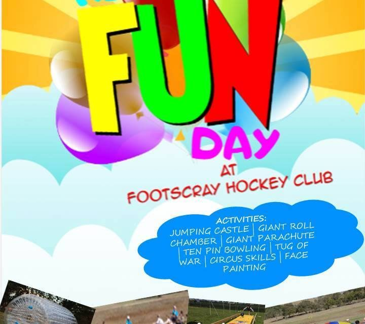 Family Fun Day Sat 27th May