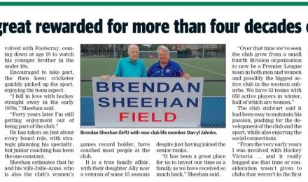 LEADER: Bulldogs Great Rewarded for more than Four Decades of Service