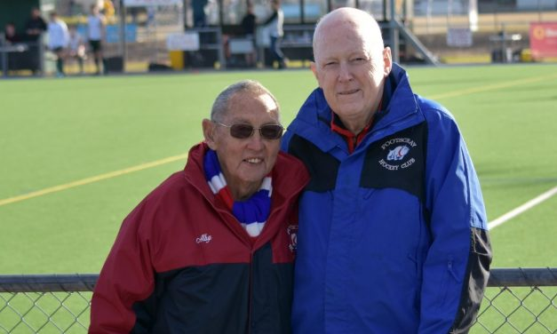 Alby and Brendan Honoured by Club