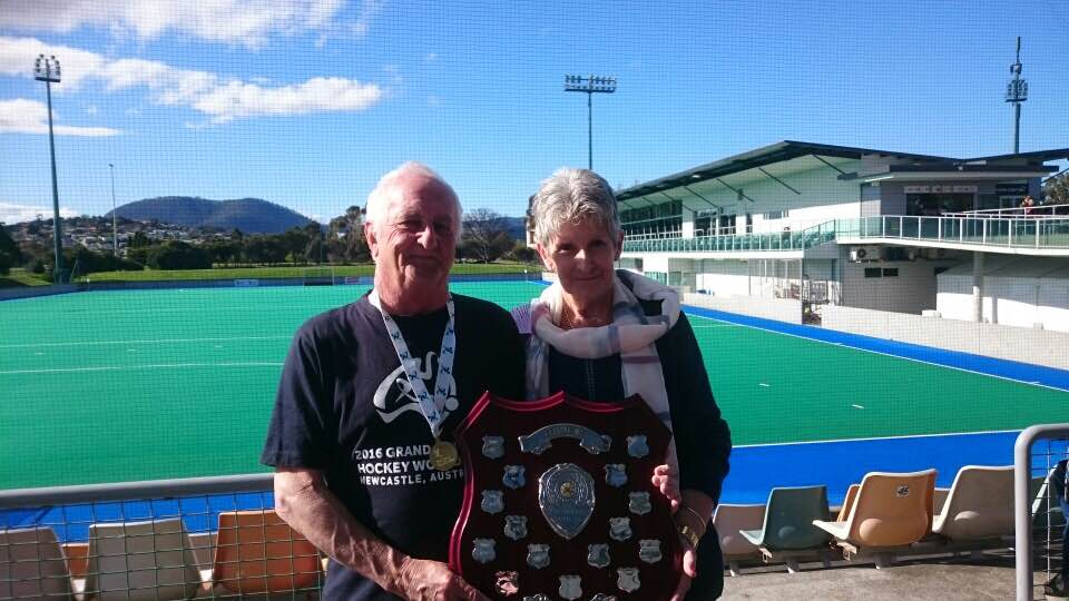 GOLD FOR NEIL COSTER IN MASTERS 70'S