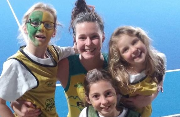 LILY BRAZEL & HOCKEYROOS GAME #3