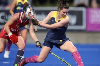 STAR: NEW HOCKEYROO LILY BRAZEL SHINES