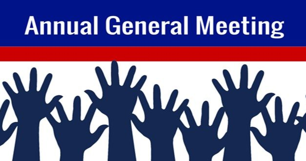 AGM – THURSDAY 29TH NOV @ 7PM