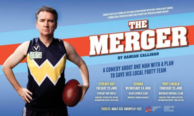 THE MERGER – AUSTRALIAN AFL COMEDY – SHARE TO WIN TICKETS