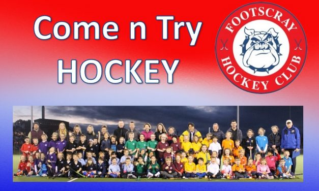 FREE JUNIOR 'COME AND TRY' HOCKEY CLINICS