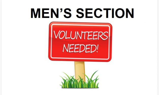 FHC MEN'S SECTION NEEDS YOUR HELP!