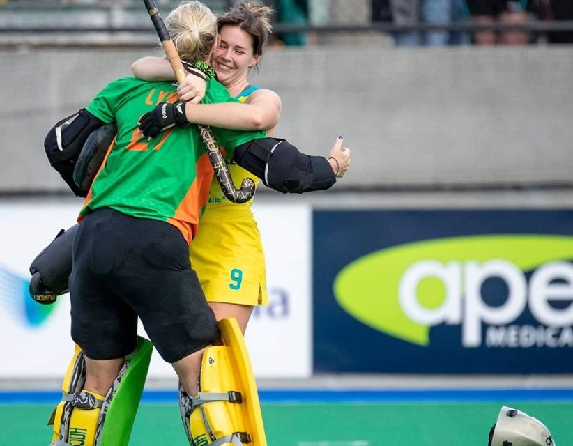 HOCKEYROOS WIN 3-1 VS GERMANY