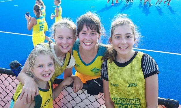LILY BRAZEL & THE HOCKEYROOS 1-0 UP