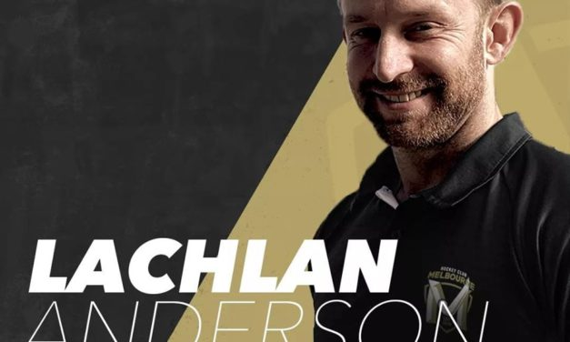 LACHIE ANDERSON ANNOUNCED AS HEAD COACH OF HOCKEY MELBOURNE