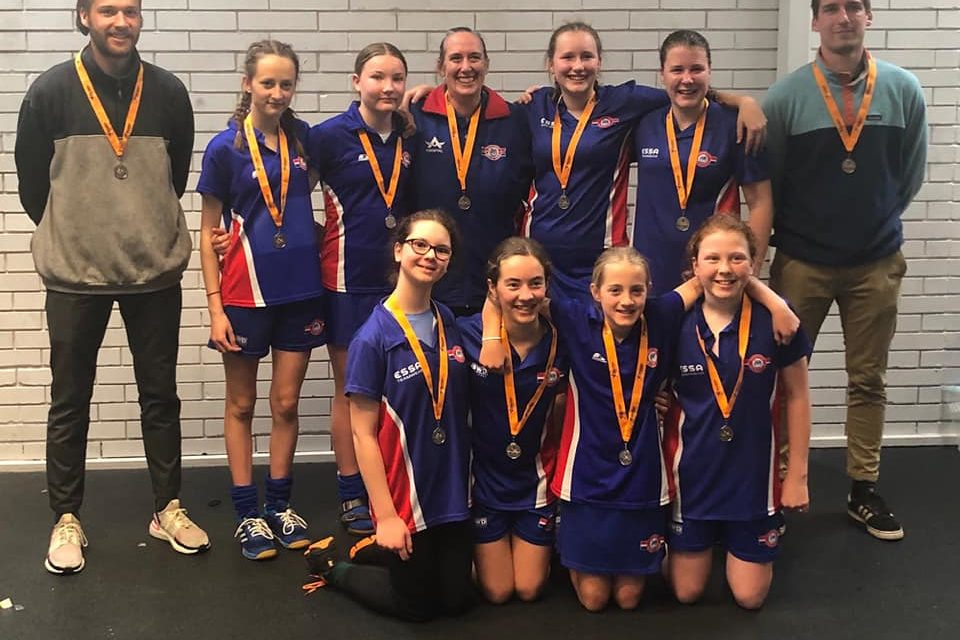 SILVER @ U13 GIRLS INDOOR CHAMPIONSHIPS