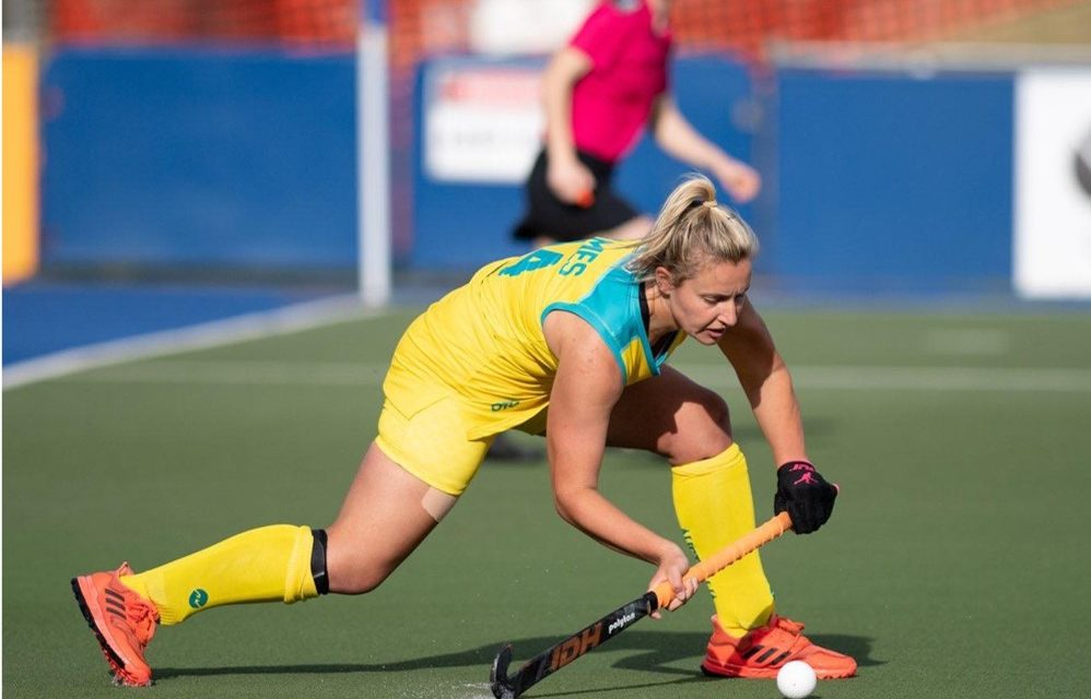 CARLY JAMES REPRESENTS AUSTRALIA @ U21's TRI NATIONS SERIES