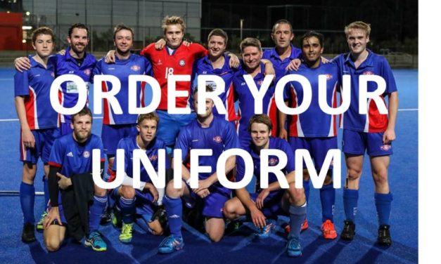 FHC ONFIELD &OFF-FIELD UNFORM ORDER FORM – DUE SUN 24th MAY