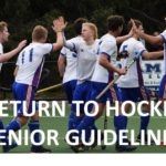 RETURN TO HOCKEY SENIOR GUIDELINES