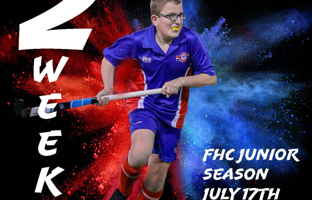 FHC JUNIORS – GET READY! ONLY 2 WEEKS TO GO!