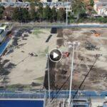 DRONE CAPTURES FHC – MCIVOR VIEW