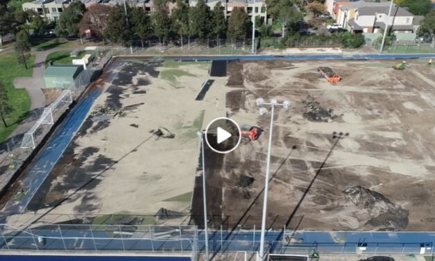 DRONE CAPTURES FHC – MCIVOR VIEW