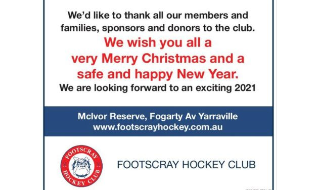 STAR WEEKLY: FHC CHRISTMAS MESSAGE TO COMMUNITY