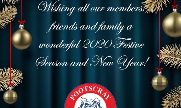 HAVE A WONDERFUL FESTIVE SEASON AND HAPPY NEW YEAR