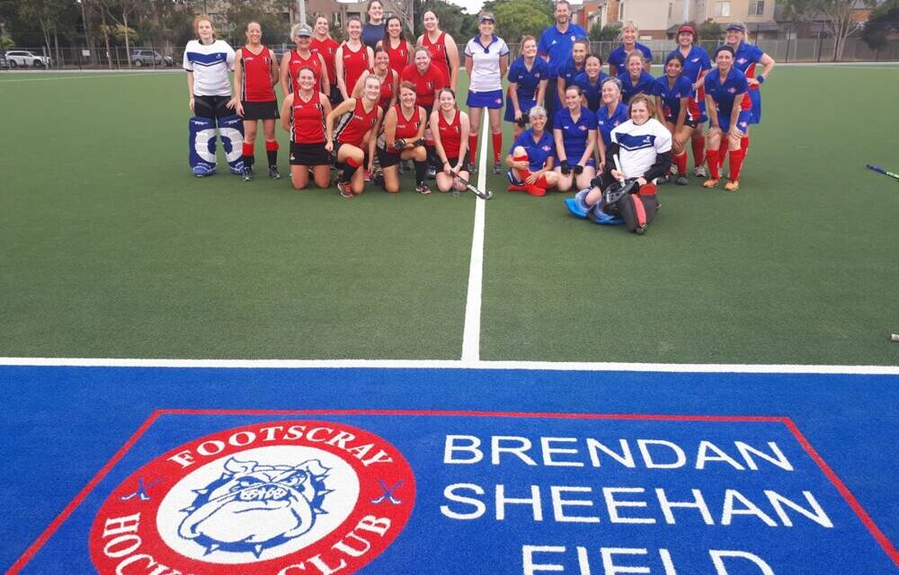 FIRST GAME ON THE BRENDAN SHEEHAN FIELD