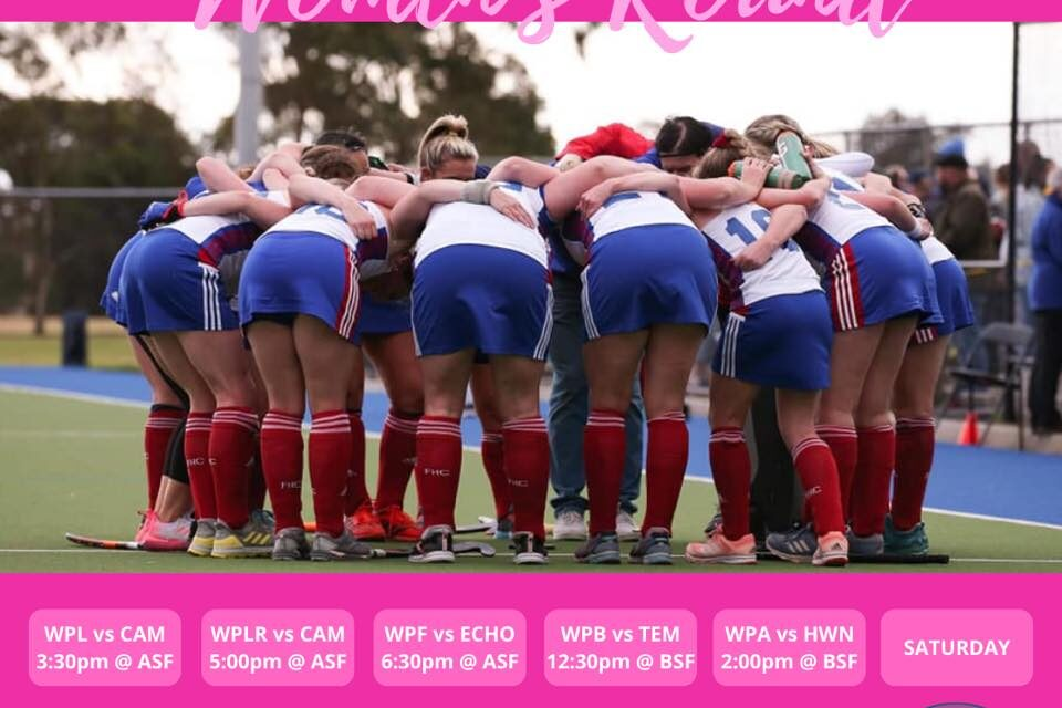 ROUND 4 WOMENS HOME GAMES